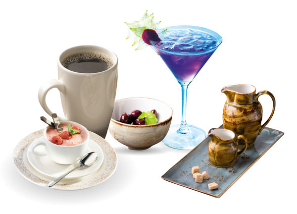 Glassware and Crockery